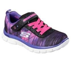 Skechers Girls Shoes - Black-Purple-Pink - 81842/166 SKECH APPEAL