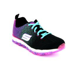 Skechers Girls Shoes - Black multi - 80035/259 SKECHAIR ULTRA