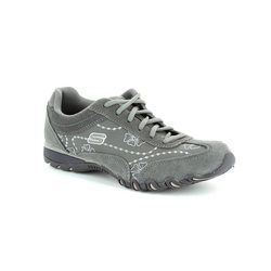 Skechers Comfort Lacing Shoes - Charcoal - 99801/14 SPEEDSTERS MF 9980/14