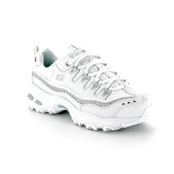 Skechers Trainers - White-silver - 11923/144 SPORT DLITES 8