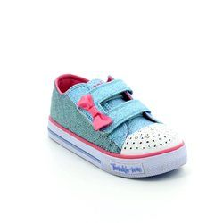 Skechers Girls 1st Shoes & Prewalkers - Light blue multi - 10600/792 STARLIGHT