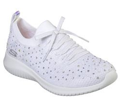 Skechers Trainers - White-silver - 13099 STROLLING OUT