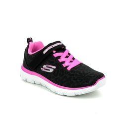 Skechers Girls Trainers - Black - 302072L SUMMITS JNR