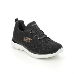 Skechers Trainers - Black Rose Gold - 149037 SUMMITS SPOT