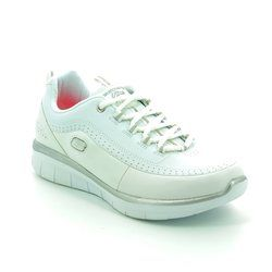 Skechers Trainers & Canvas - White-silver - 12363/144 SYNERGY 2