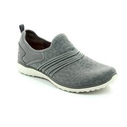 Skechers Trainers - Grey - 23322/037 UNDER WRAPS