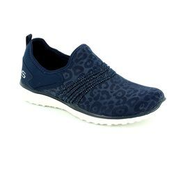 Skechers Trainers & Canvas - Navy - 23322/417 UNDER WRAPS