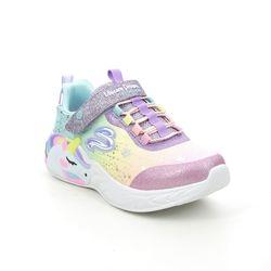 Skechers Girls Trainers - Purple - 302311L UNICORN DREAMS