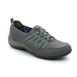 Skechers Comfort Lacing Shoes - Grey - 23055/037 UNITY GO BIG
