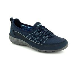 Skechers Comfort Lacing Shoes - Navy - 23055/417 UNITY GO BIG