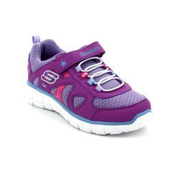 Skechers Girls Shoes - Purple - 99625/808 VIM BRITE LOVE