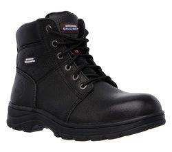 Skechers Boots - Black - 77009 SAFETY WORK BOOT STEEL TOE