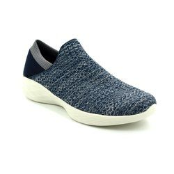 Skechers Trainers & Canvas - Navy - 14951/417 YOU