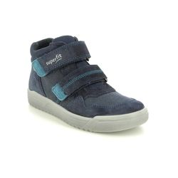 Superfit Boys Boots - Navy Suede - 1009057/8000 EARTH GTX VEL