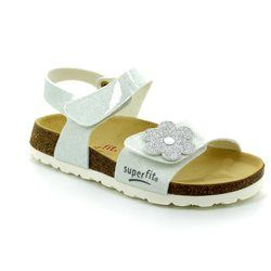 Superfit Girls Shoes - White - 00118/50 FUSSBETT