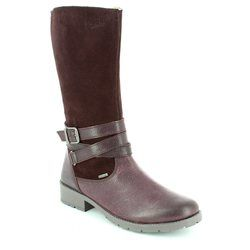 Superfit Girls Boots - Aubergine - 00186/66 HEEL GORE TEX