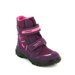 Superfit Girls Boots - Purple multi - 00080/41 HUSKY GORE TEX