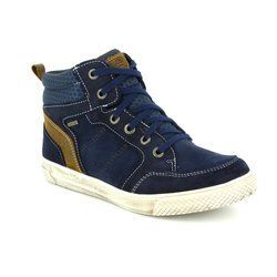Superfit Boys Boots - Navy multi - 00201/81 LUKE GORE TEX
