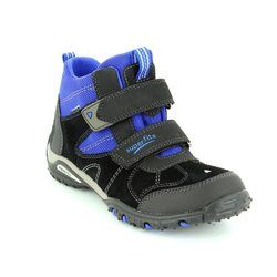 Superfit Boys Boots - Black/blue - 00364/03 SPORT4 GORE