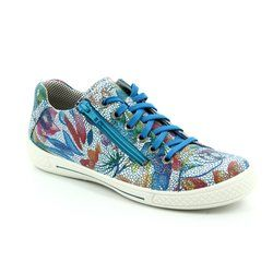 Superfit Girls Shoes - Blue multi - 08107/91 TENSY
