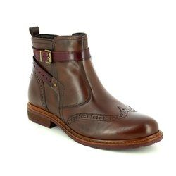 Tamaris Chelsea Boots - Brown - 25004/354 BELIN