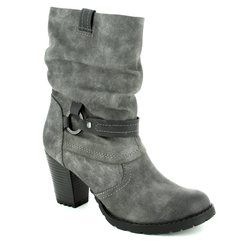 Tamaris Boots - Short - Dark Grey - 25394/220 CANESAL