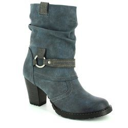 Tamaris Boots - Short - Navy multi - 25394/829 CANESAL