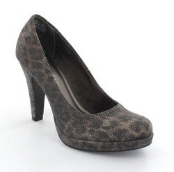 Tamaris Heeled Shoes - Silver Glitz - 22429/905 CARRAGLITZ