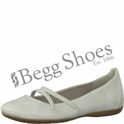 Tamaris Mary Jane Shoes - Light grey - 22110/20201 CATARIS 81