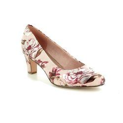 Tamaris Court Shoes - Beige - 22418/22/678 CAXIAS 91