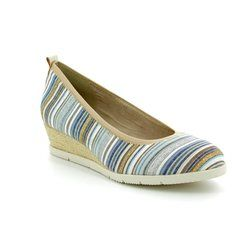 Tamaris Espadrilles - Blue multi - 22301/20818 DILLIAN