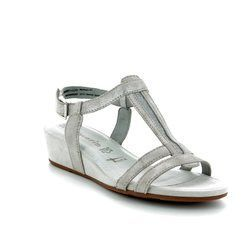 Tamaris Wedge Sandals - Light grey - 28209/20/243 EMILY  81