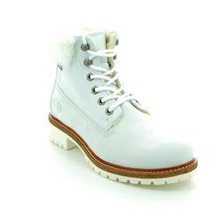 Tamaris Boots - Ankle - White - 26244/114 FITEFUR TEX