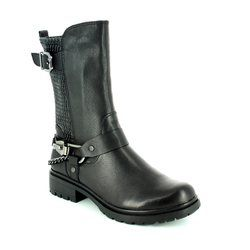 Tamaris Boots - Short - Black - 25411/001 HELIO