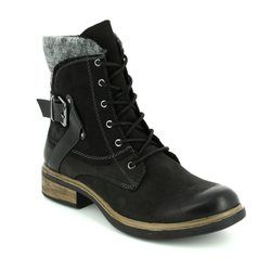 Tamaris Boots - Ankle - Black - 25101/001 HELIOLACE