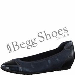 Tamaris Pumps - Navy patent - 22139/20890 JOYA   81