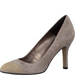 Tamaris Court Shoes - Taupe suede - 22481/341 LISA