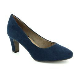 Tamaris Heeled Shoes - Navy - 22436/805 MATTEO