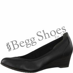 Tamaris Wedge Shoes  - Black - 22304/20001 MYRICA  81