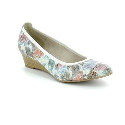 Tamaris Wedge Shoes  - Floral print - 22304/20908 MYRICA  81