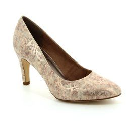 Tamaris Heeled Shoes - Gold - 22450/953 SURIA