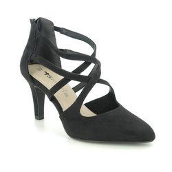 Tamaris Heeled Shoes - Black - 24423/25/001 TAIMIE