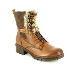 Tamaris Boots - Ankle - Tan multi - 26212/441 TALUES