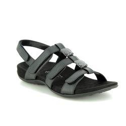 df26ebca4258 Vionic Rest Amber 2019-01 Black croc sandals
