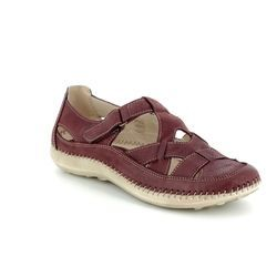 Walk in the City Comfort Shoes - Red - 7105/16030 DAISLAT