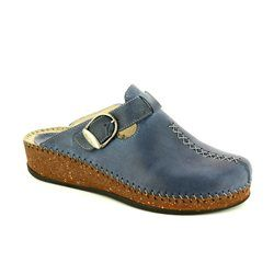 Walk in the City Slippers & Mules - Navy - 1124/16960 SULICRO