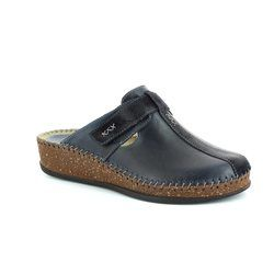 Walk in the City Slippers & Mules - Navy - 1124/16947 SULIVAN