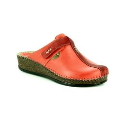 Walk in the City Slippers & Mules - Red leather - 1124/16940 SULIVAN 85