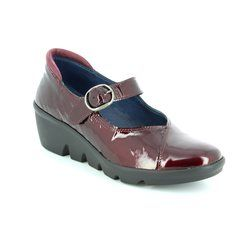 Walk in the City Comfort Shoes - Wine patent - 1111/37270 YABA