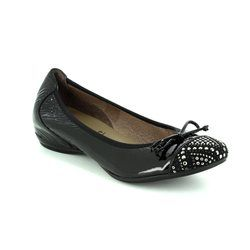Wonders Pumps - Black patent suede - A3082/30 COCODIA